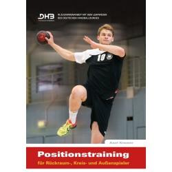 Positionstraining für Rückraum, Kreis- und Außenspieler
